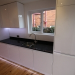 Magnet kitchen sink & quartz stone worktop