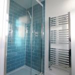 Bathroom Fitting Shower Cubicle & Heated Towel Rail